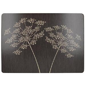 tischsets platzsets in schwarz online vergleichen m bel 24. Black Bedroom Furniture Sets. Home Design Ideas