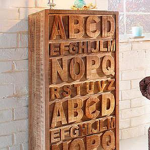 Kommode ABC Breite 60 cm HOME AFFAIRE