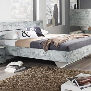 Rauch  SELECT Bett, 180/200 cm, weiß, 180/200 cm
