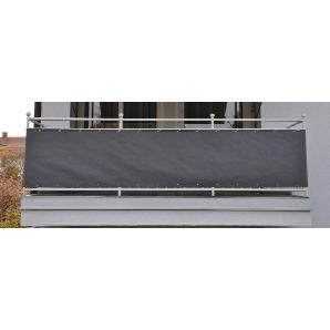 ANGERER FREIZEITMÖBEL Wind- und Sichtschutz »Balkonumspannung, Polyacryl«, Meterware, grau