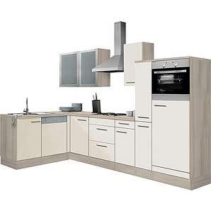 OPTIFIT Winkelküche »Kalmar« ohne E-Geräte, Breite 300x175 cm