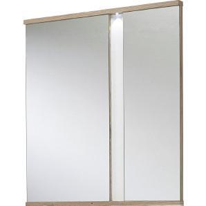 : Spiegel, Eiche, Weiß, B/H/T 90 100 5