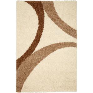 Teppich Patsy, Hochflor in beige