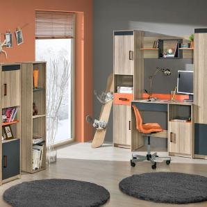 trendige regale f r jugendzimmer moebel24. Black Bedroom Furniture Sets. Home Design Ideas