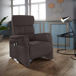 Places of Style TV-Sessel mit Kopfteilverstellung »Geraldton« in Größe S, auch mit Heizmatte/Aufstehhilfe