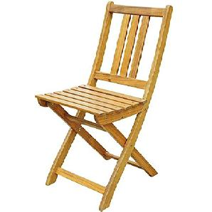 SAM Gartenstuhl Farum, Akazie-Holz, für Balkon Garten, Terrasse, zusammenklappbar, FSC® 100% zertifiziert
