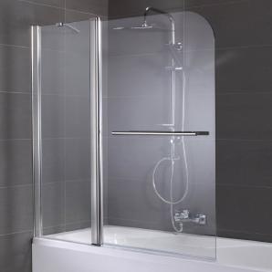Badewannenaufsatz »Spring«, Duschabtrennung, 2-teilig