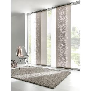 Dekorative schiebegardinen vergleichen mit moebel24 - Bambus schiebevorhang ...