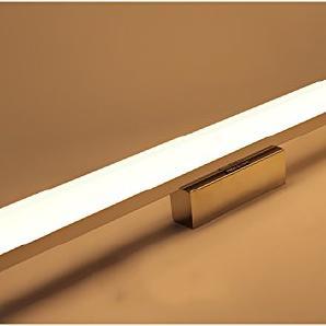 Flashing- Moderne minimalistische Badezimmer-Spiegel-Beleuchtung LED-Wand im Badezimmer Spiegelschrank amerikanischen Continental wasserdicht Make-up ( Farbe : Warm , größe : 106 )