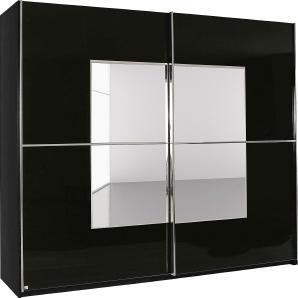 Rauch SELECT Schwebetürenschrank schwarz, Breite 181 cm