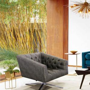 Sit-möbel SIT Sessel  in moderner Chesterfield Optik »6026«, grau