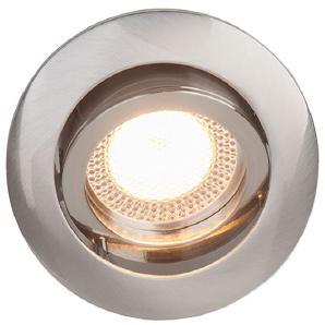 EEK A++, Einbauleuchte Easy Clip - Metall - Silber - 3-flammig, Brilliant