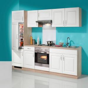 Küchenzeile »Tilda«, inkl. Elektrogeräte - mit Edelstahl-Kochmulde, Breite 270 cm