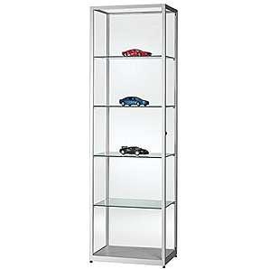 standvitrinen aus glas online vergleichen m bel 24. Black Bedroom Furniture Sets. Home Design Ideas