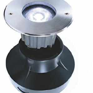 KapegoLED Bodeneinbauleuchte, symmetrisch, 220-240 V, AC/50-60 Hz, 1 W 785010
