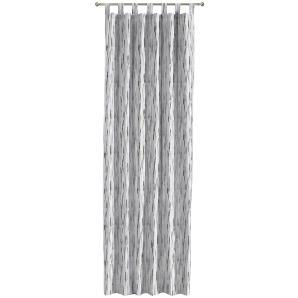 Schlaufenschal Bottai - Webstoff - Grau / Creme - 70 x 160 cm, Morteens