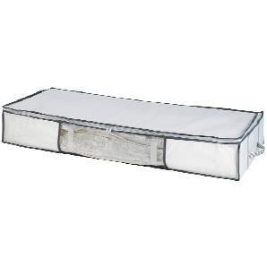 Vakuum-Unterbettbox Soft Chorio - Weiß, Wenko