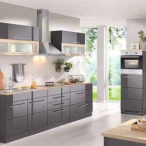 HELD MÖBEL Küchenzeile mit E-Geräten , Breite 340 cm
