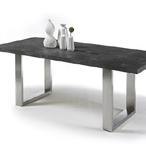 esstische aus edelstahl online vergleichen m bel 24. Black Bedroom Furniture Sets. Home Design Ideas