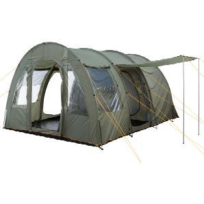 CampFeuer Campingzelt, olivgrün, 4 Personen Tunnelzelt, 5000 mm