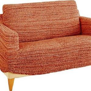 Gaico Sofahusse »Francesca«, mit Crinkle-Optik in Terracotta 2-Sitzer