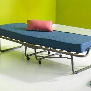 Gästebett inkl. Staubschutzhülle »Colonia« silber, Breite 80cm, silberfarben