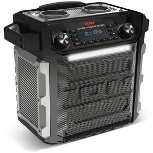 ION Bluetooth Lautsprechersystem »Block Rocker Sport 100W BT Speaker-Trolley + Radio«