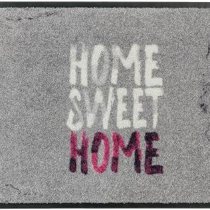 Fußmatte Broadway II - Kunstfaser - Grau / Pink - 70 x 110 cm, Schöner Wohnen Kollektion
