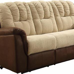 Home affaire 3-Sitzer mit Relaxfunktion im Bezug-Mix, braun, B/H/T: 200x49x53cm »Petra«, FSC®-zertifiziert