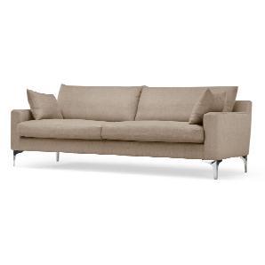 Mendini 3-Sitzer Sofa, Soft Taupe