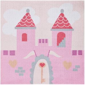Kinderteppich Prinzessinnenschloss
