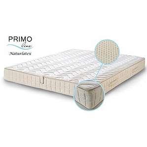 Primo Line Natur Latexmatratze NATURA - 80% Naturlatex 7 Zonen Matratze 140x200 H2 Höhe 20 cm RG 75 (bis 95 kg) - Doppeltuch-Bezug waschbar - ÖKO TEX® zertifiziert