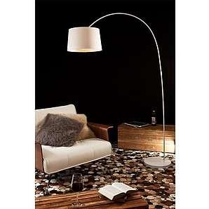 SalesFever Bogenlampe weiß groß »Necko«