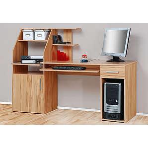 PC-Schreibtisch Don braun