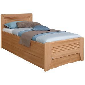 Teilmassives Komfortbett Valerie III - Erle - 120 x 200cm - Kein Bettkasten, Rauch Steffen