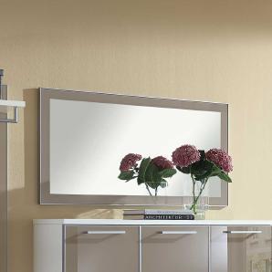 Garderobenspiegel in Taupe Glas modern