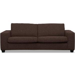 3-Sitzer Sofa Polsterbezug terrabraun WESTSIDE