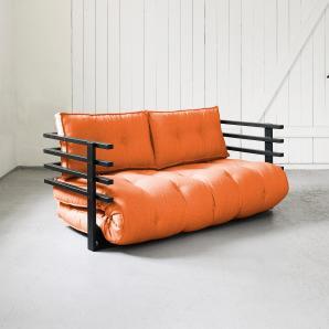 KARUP Schlafsofa orange, »Funk«, FSC®-zertifiziert