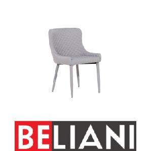 Stuhl Grau - Sessel - Esszimmerstuhl - Küchenstuhl - Polsterstuhl - SOLANO