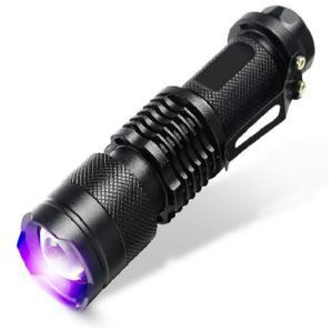 4x Taschenlampe mit UV-Licht