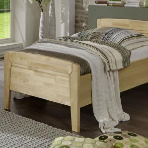 Seniorenbett mit hoher Einstiegshöhe Birke 100x200 cm - Tonga