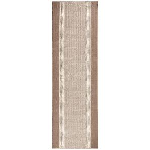 Läufer Band - Kunstfaser - Beige - 80 x 200 cm, Hanse Home Collection