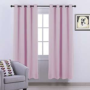 gardinen vorh nge in rosa online vergleichen m bel 24. Black Bedroom Furniture Sets. Home Design Ideas