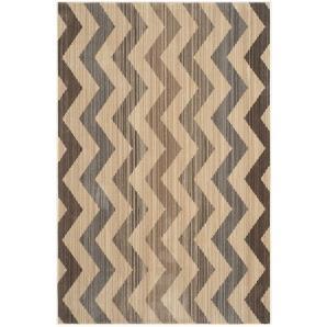 Teppich Maddalena   Gelb/Braun   Maße: 154 X 228 Cm, Safavieh