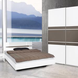Rauch  PACK`S Schlafzimmer-Set (4-tlg.), grau