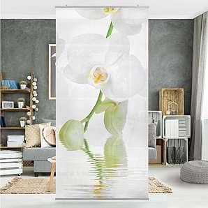 Bilderwelten Raumteiler 250x120cm »Wellness Orchidee«