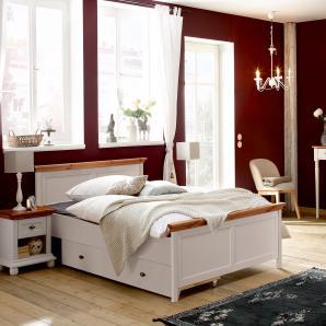 Home Affaire  Bett  »Irena«, Liegehöhe 45 cm, beige