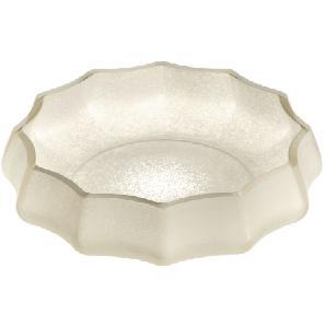 Schale Ferrara - Glas - Weiß, Leonardo