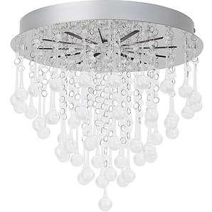 Brilliant Leuchten LED-Deckenlampe silberfarben