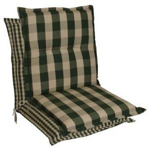 : Sesselauflage, Beige, Dunkelgrün, B/H/T 50 9 100